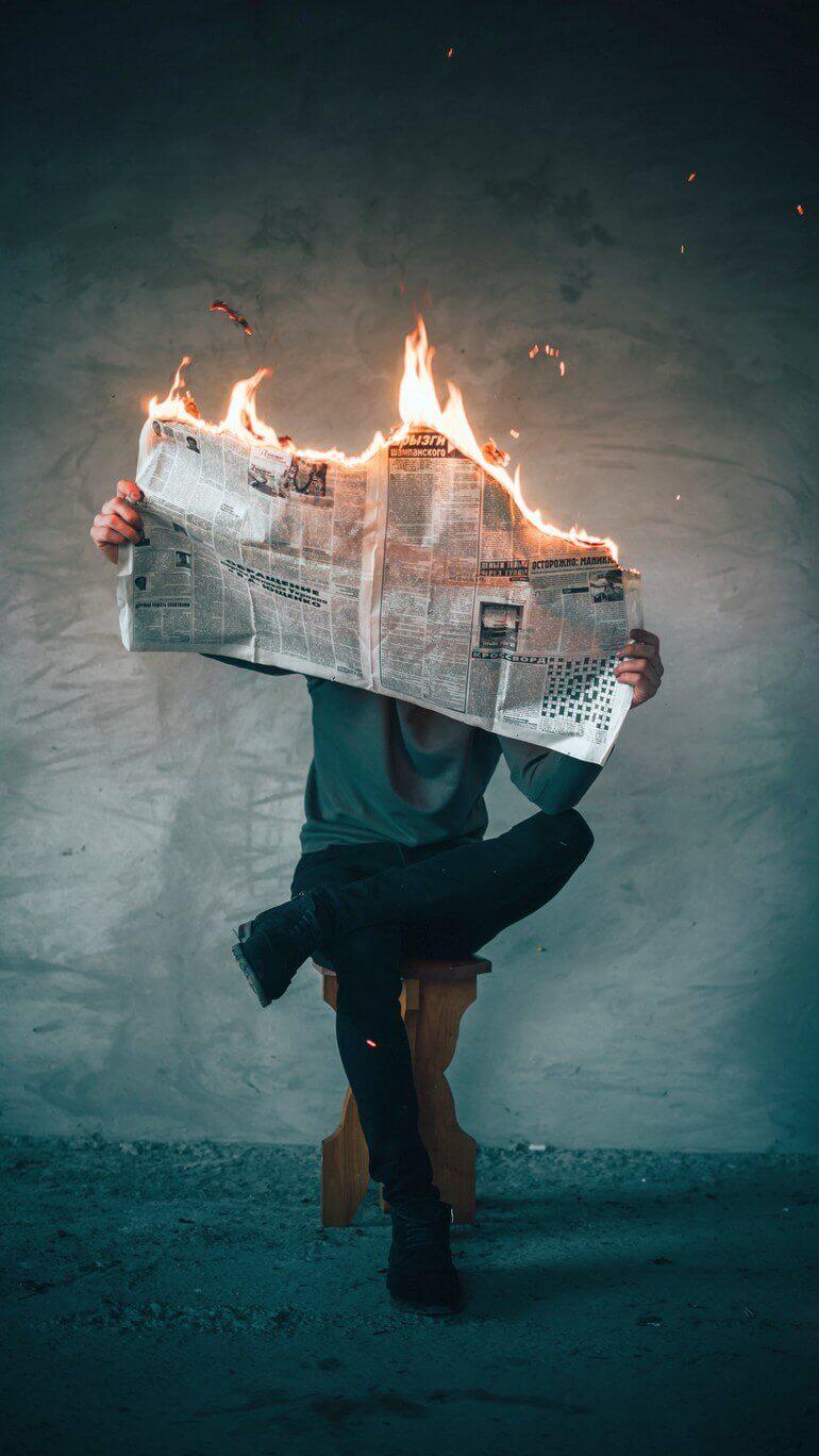 Изображение для статьи видео после которого не хочется смотреть новости