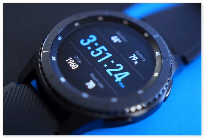 изображение новых смарт часов от samsung